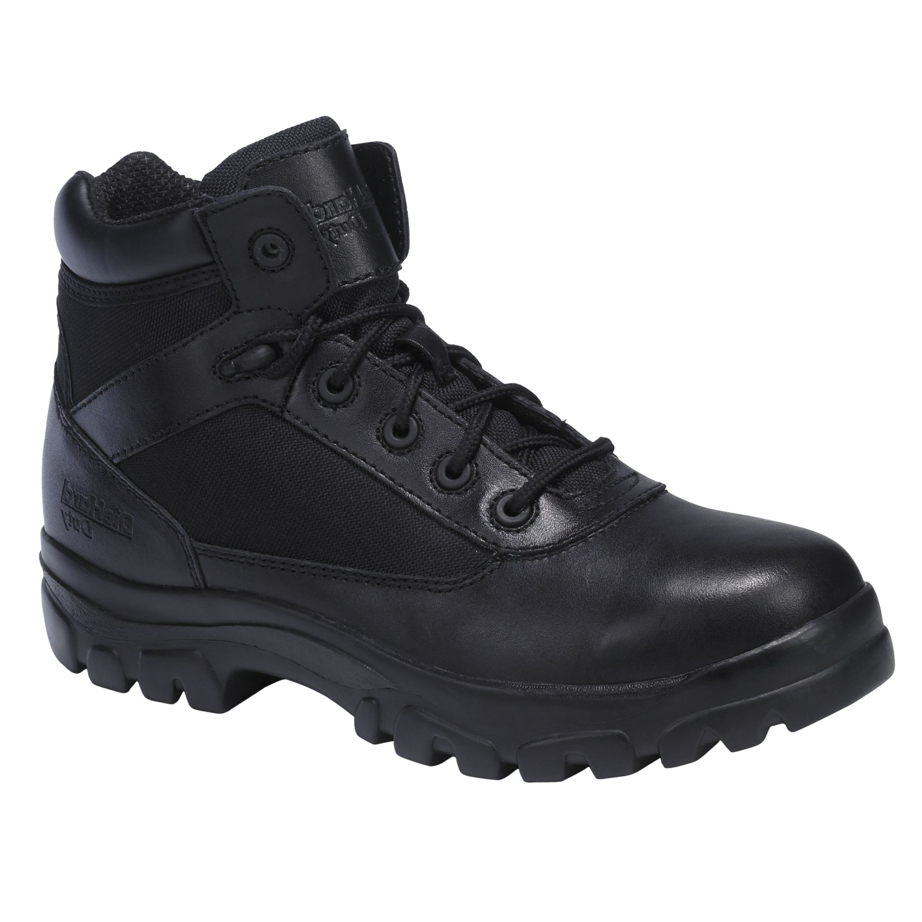 Men's 6 inch Lace-To-Toe Work Boot - Black
