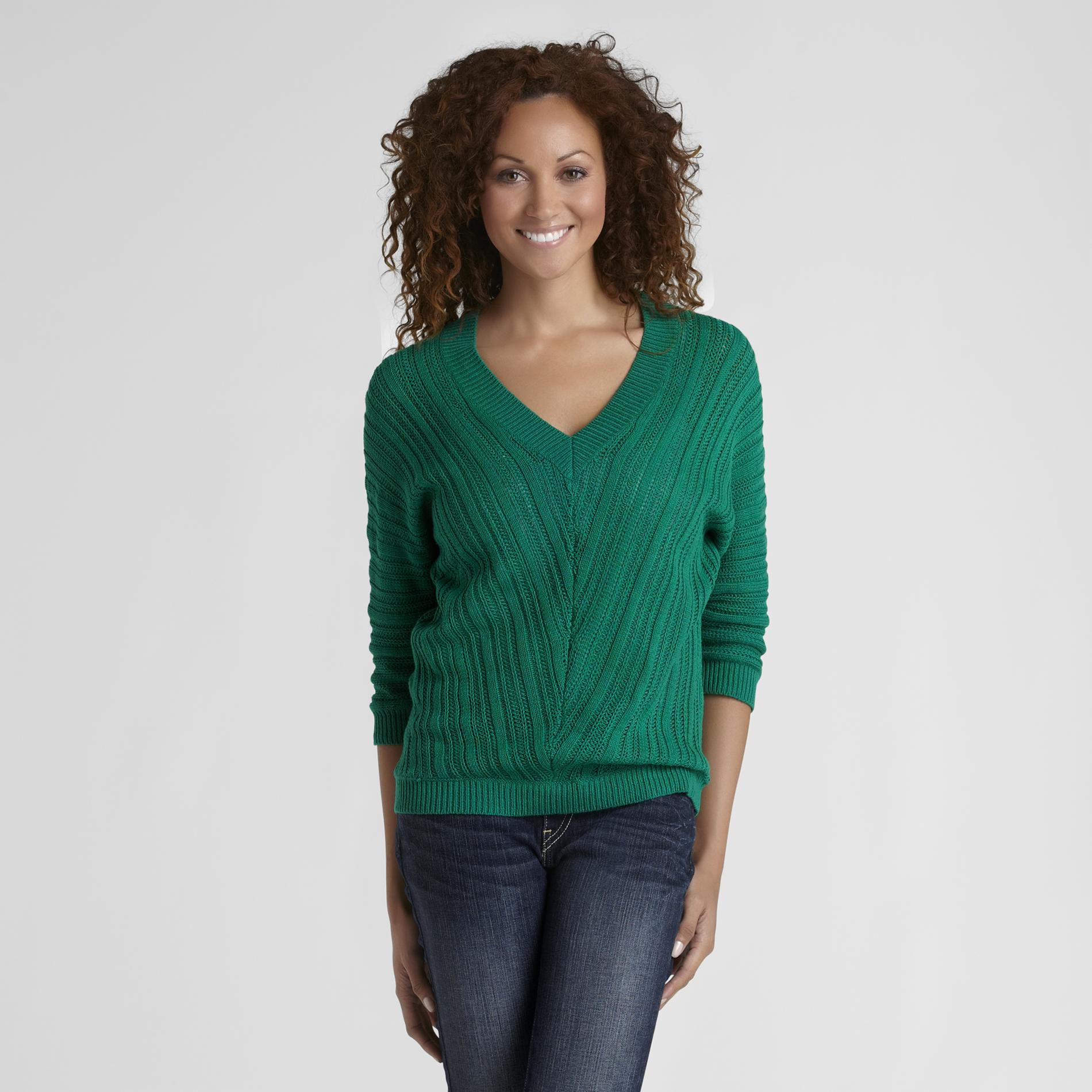 Route 66 Women's V-Neck Dolman Sweater at Kmart.com