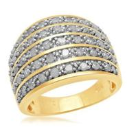 1 cttw 5 Row Diamond Band Ring at Sears.com