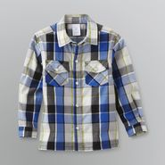 WonderKids Infant & Toddler Boy's Long-Sleeve Plaid Shirt at Kmart.com