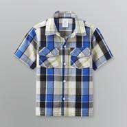 WonderKids Toddler Boy's Short-Sleeve Plaid Shirt at Kmart.com