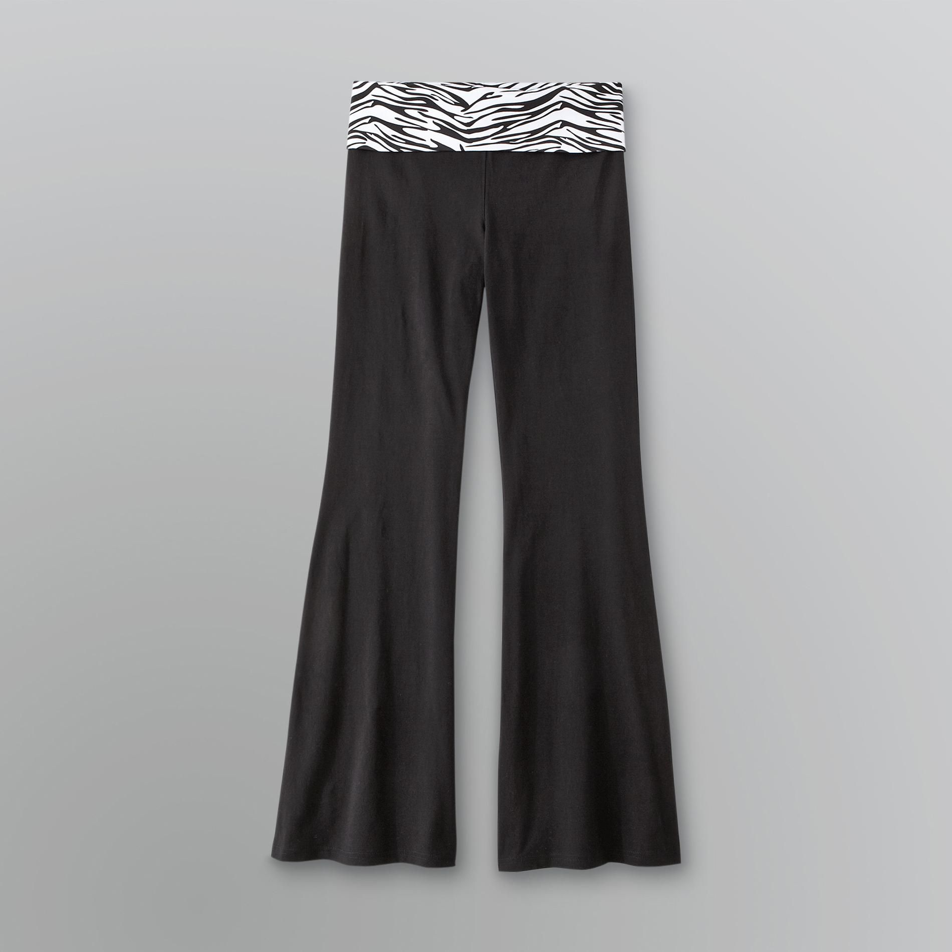 Bongo Junior's Yoga Pants with Animal Print Roll Waist at Sears.com