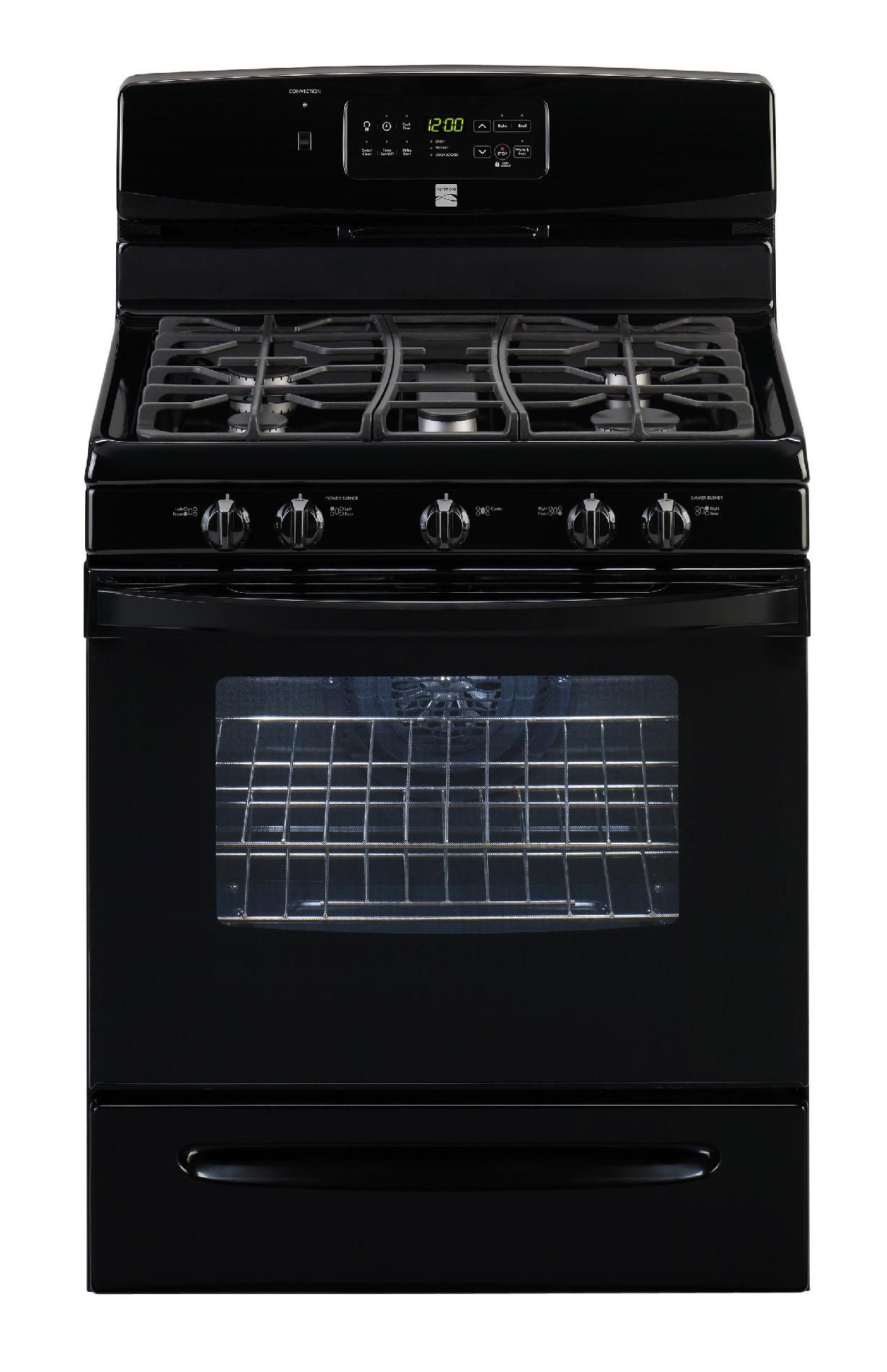 Kenmore  30'' Freestanding Gas Range - Black