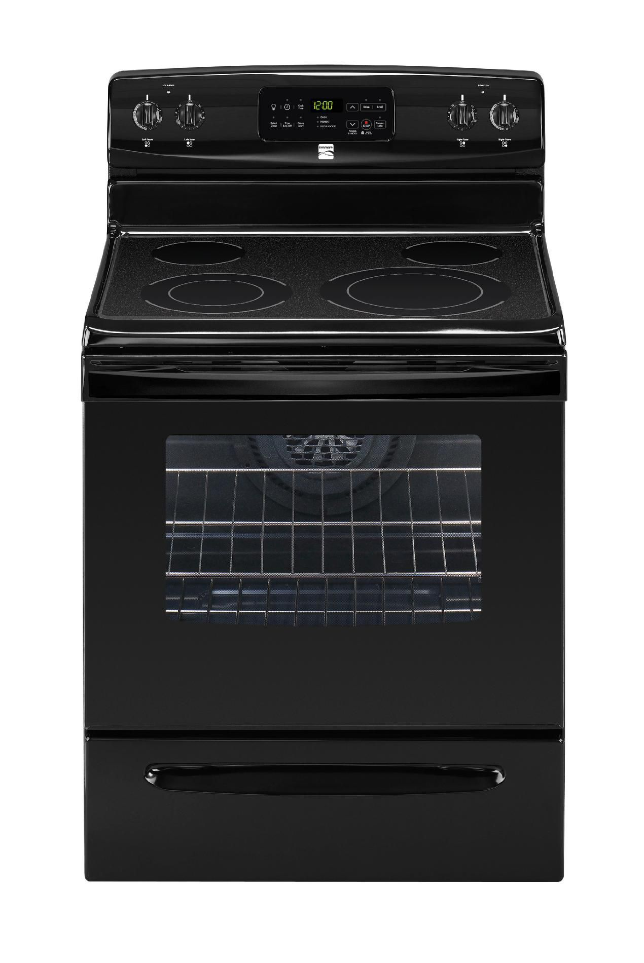 Kenmore  30'' Freestanding Electric Range - Black