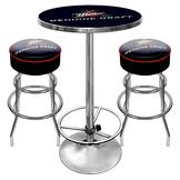 Trademark Global Ultimate Miller Genuine Draft Combo - 2 Bar Stools and Table at mygofer.com