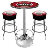 Trademark Global Ultimate Killians Gameroom Combo - 2 Bar Stools and Table at mygofer.com