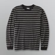 Basic Editions Men's Ribbed Long-Sleeve T-Shirt at Kmart.com