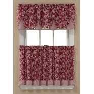 Sandra by Sandra Lee Sandra Lee Dora Valance and Tier Collection - Brick at Kmart.com