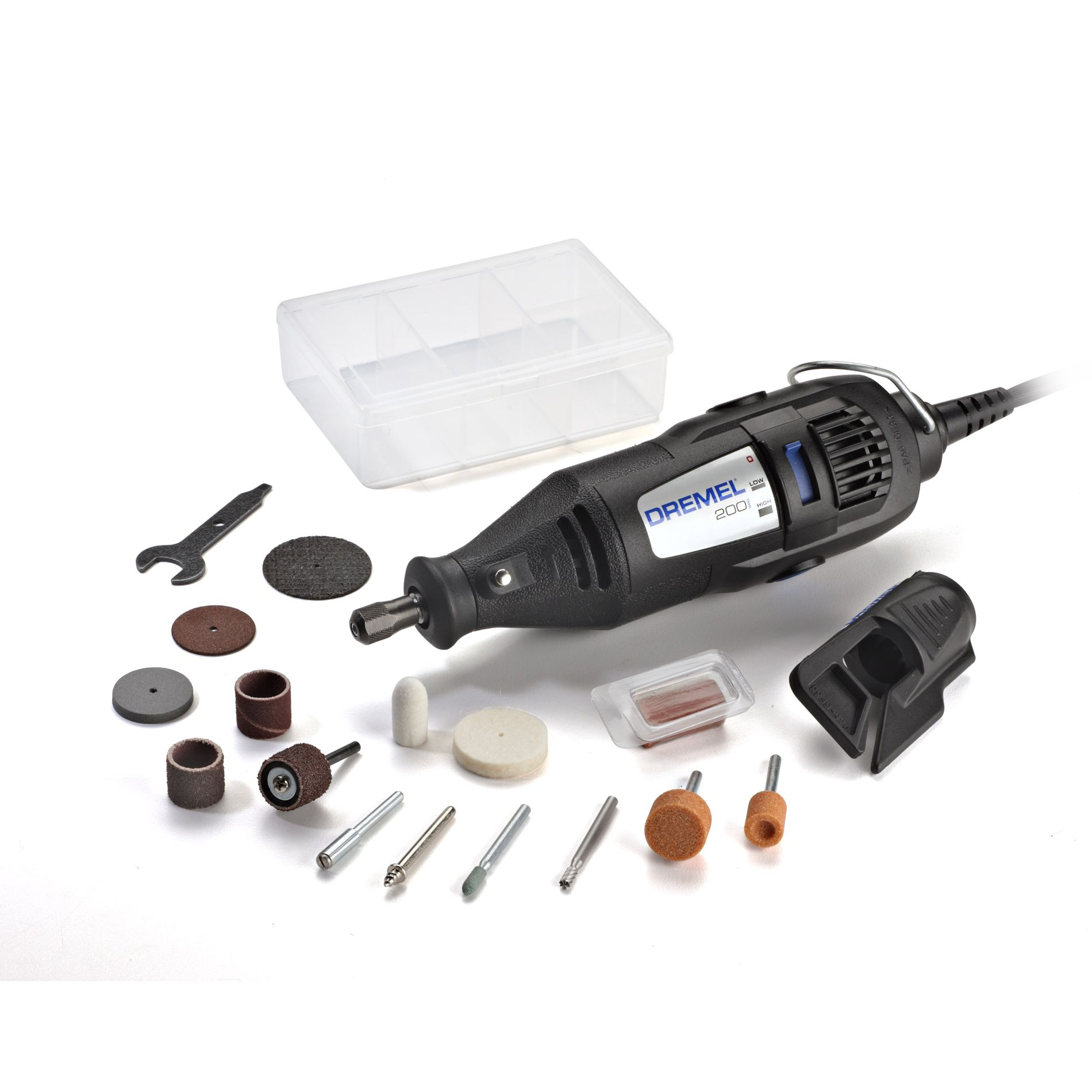 200-1/15 Two-Speed Rotary Tool Kit                                                                                               at mygofer.com
