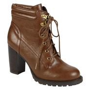 Bongo Women's Compass Lace-Up Bootie - Camel at Kmart.com