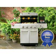 Kenmore 4-Burner Stainless Steel Gas Grill, Grill Cover, & Accessories at Sears.com