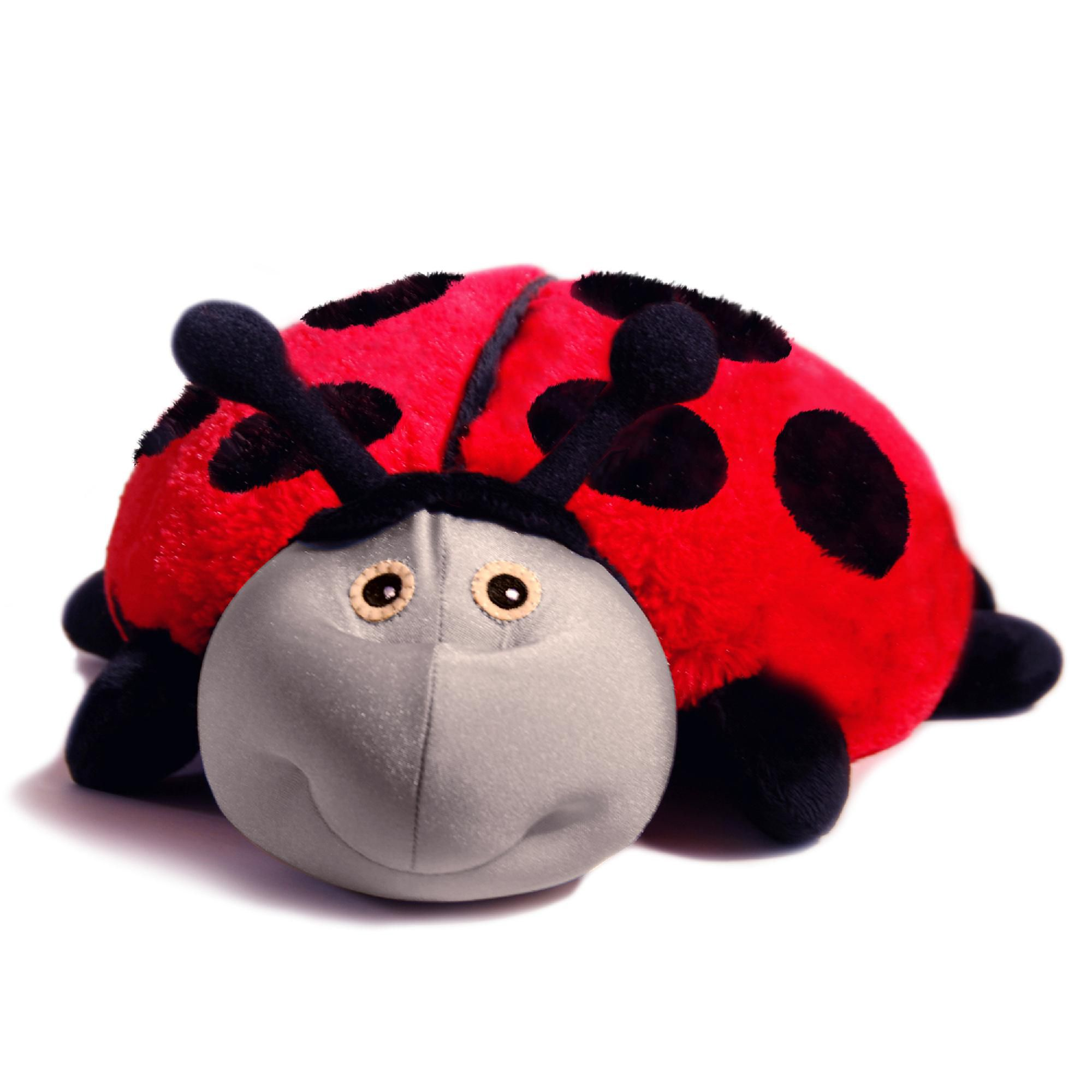 Blanket Pets - Lilly the Ladybug - Red and