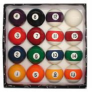 Trademark Deluxe Billiard Pool Balls Set at Kmart.com