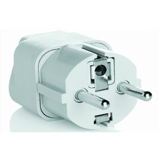 Travel Smart by Conair Grounded Adapter Plug (Parts of Europe, Middle East, parts of Africa, Asia, the Caribbean) NWG1C