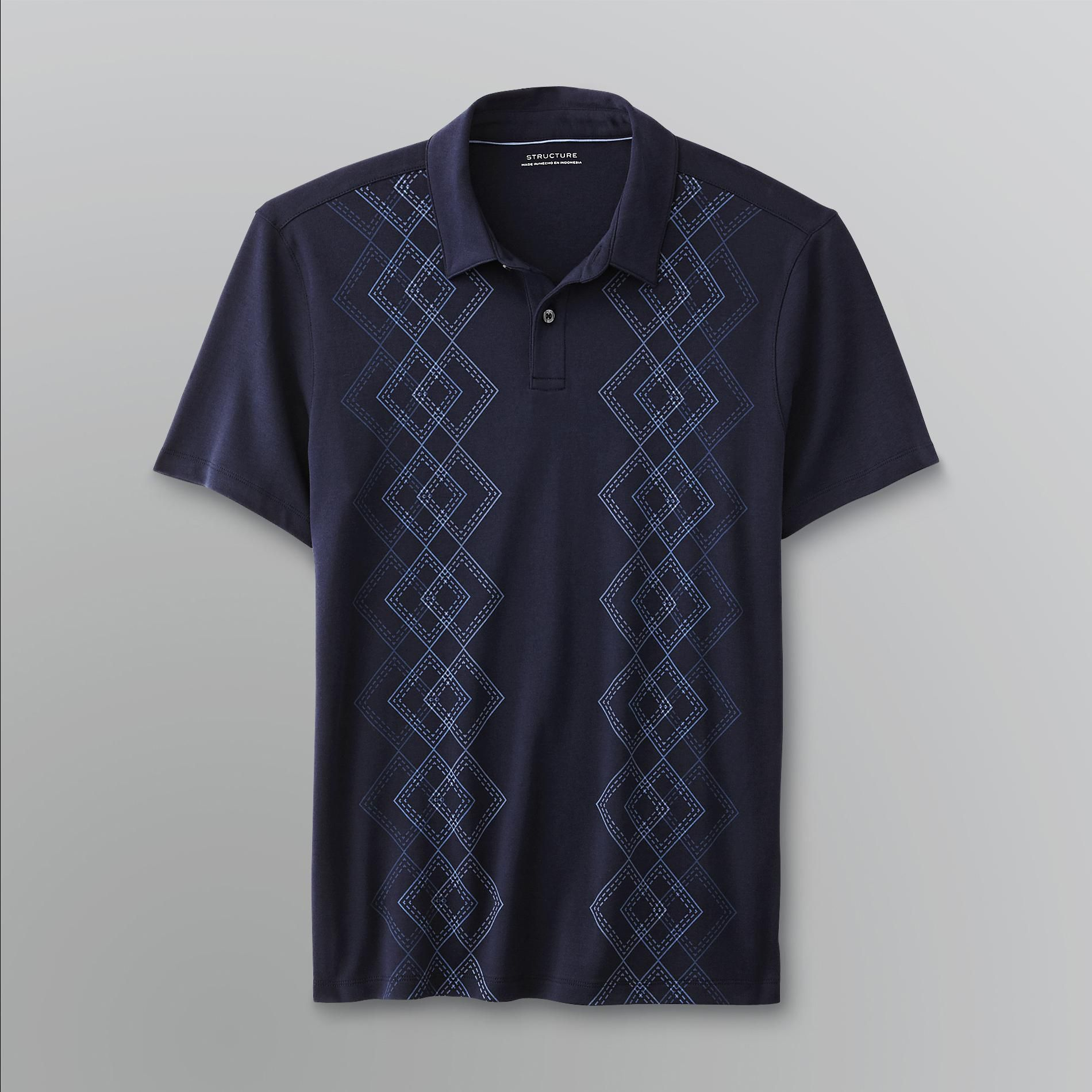 Men's Argyle Polo Shirt