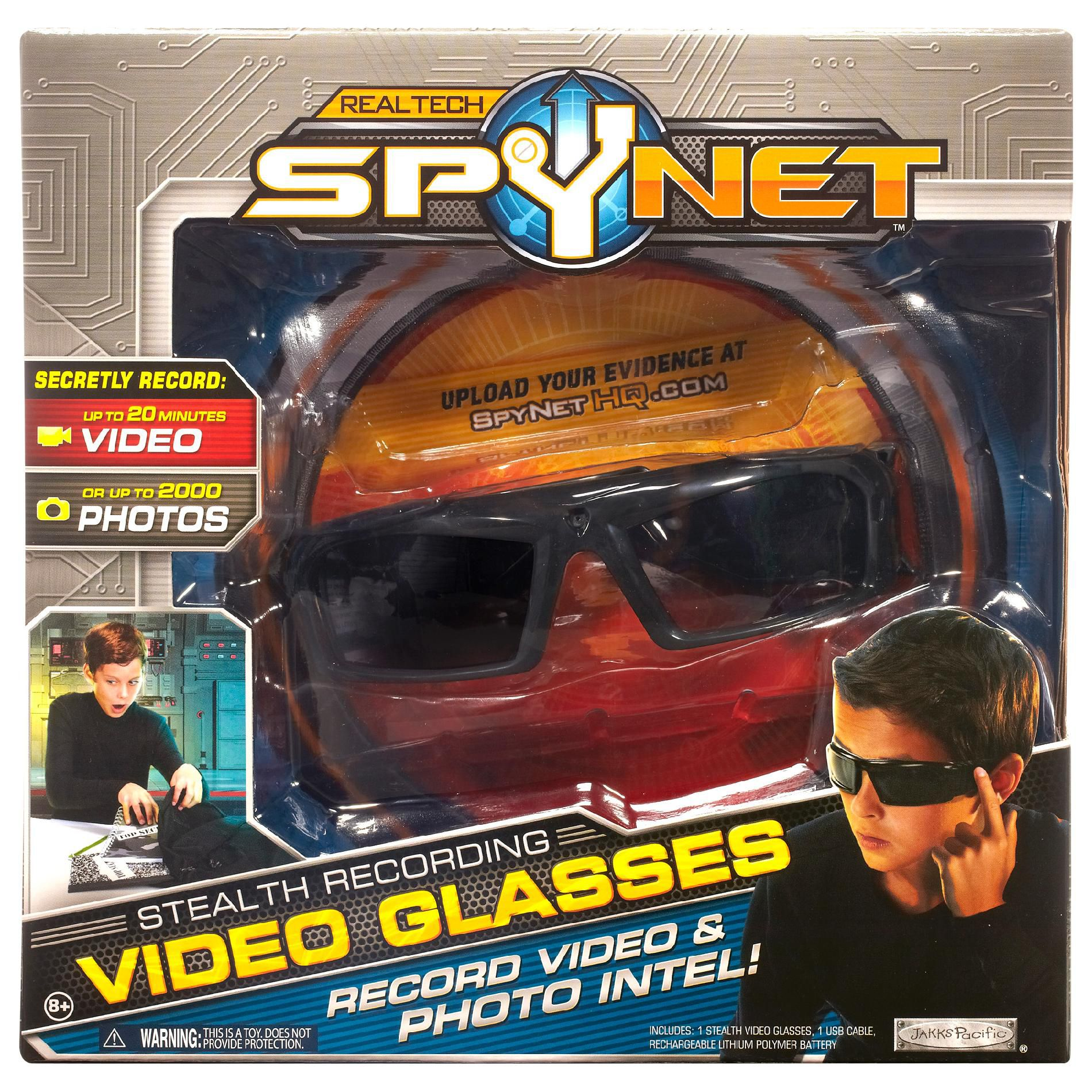 Spy Net  SPY NET STEALTH VIDEO GLASSES