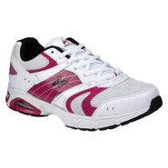 Athletech Women's Ath L-Sky Way Athletic Shoe - White/Fuchsia at Kmart.com