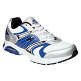 Athletech Men's Ath L-Sky Way Athletic Shoe - White/Blue at mygofer.com