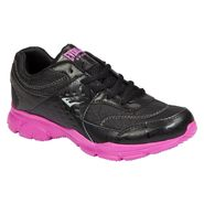 Everlast® Women's L-Sleek Athletic Shoe - Black/Fuchsia at Kmart.com