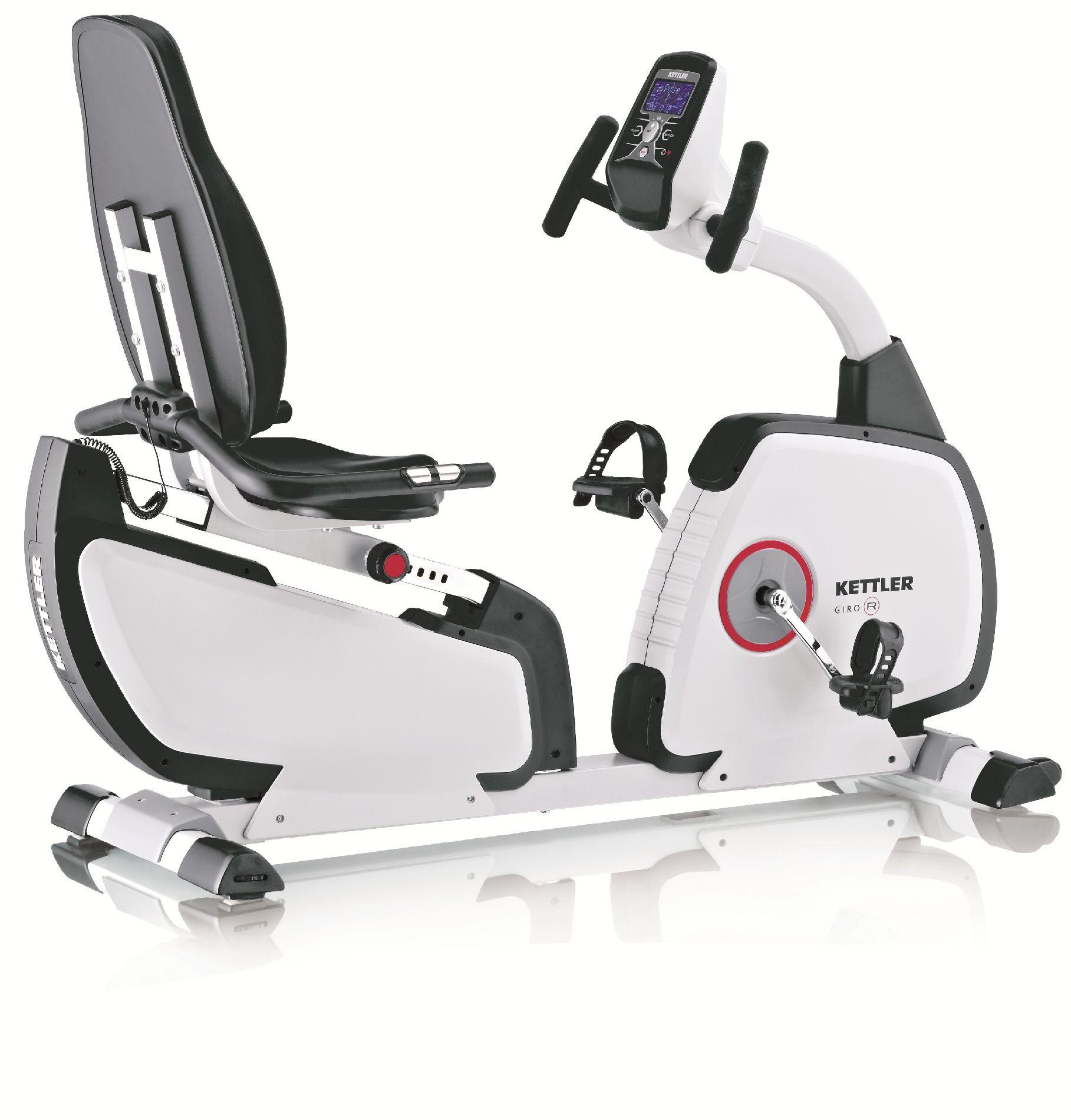 Kettler® Kettler® GIRO R Programmable Recumbent Bike