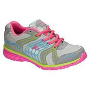 Athletech Girl's Athletic Shoe Willow2 - Grey/Multi - Every Day Great Price at Kmart.com
