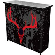 Trademark Global Hunt Skull 2 Shelf Portable Bar w/ Case at Sears.com