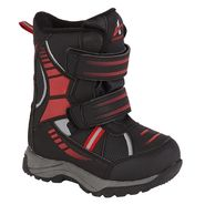 Athletech Toddler Boy's Arctic 3 Winter Boot - Black/Red at Kmart.com