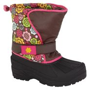 Athletech Girl's Rue 3 Winter Boot - Brown at Kmart.com