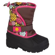 Athletech Toddler Girl's Rue 3 Winter Boot - Brown at Kmart.com