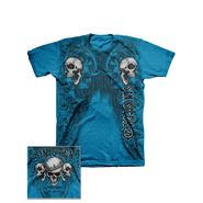 Sinister Young Men's Tee Shirt 'Sinister Hanging' Short Sleeve Turquoise at Kmart.com