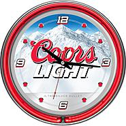 Coors Light 14-inch Neon Wall Clock at Kmart.com