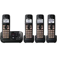 Panasonic Expandable Digital Cordless Answering System w/ 4 Handsets KX-TG4734B at Sears.com
