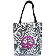 Bongo Women's Bag Zebra Peace Tote at Sears.com