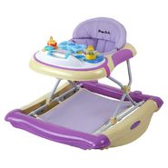 Dream On Me 2 in 1 Crossover Musical Walker and Rocker in Yellow and Purple at Sears.com