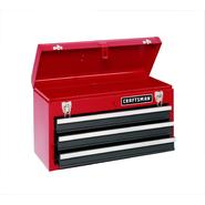 Craftsman 3-Drawer Metal Portable Chest-Red/Black at Sears.com
