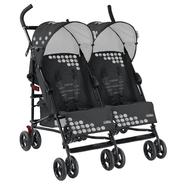 Mia Moda Facile Twin Stroller in New Carbon at Kmart.com