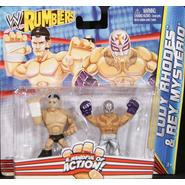 WWE Cody Rhodes & Rey Mysterio - WWE Rumblers Toy Wrestling Action Figures at Sears.com