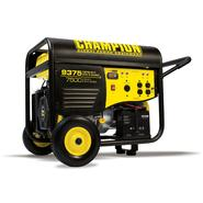 Champion Power Equipment 41537 7500/9375 Watt Heavy Duty Portable Gas Generator Electric Start with 25 ft. power cord CARB at Sears.com