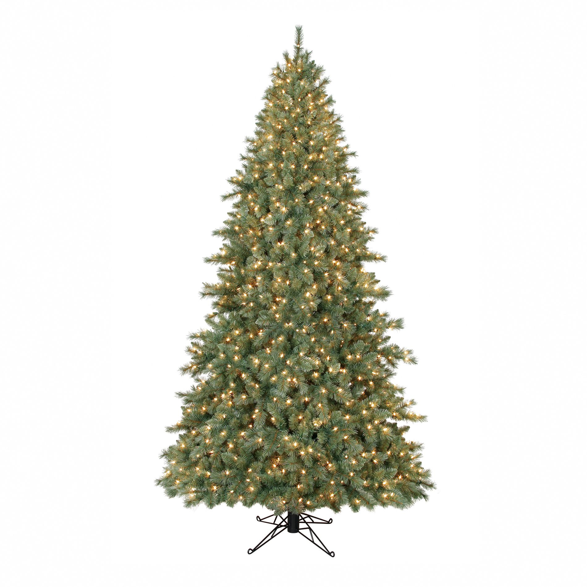 9 Ft Clear Pre-Lit Brentwood Artificial