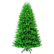 7 Ft. Multi-Color Pre-Lit Green Artificial Christmas Tree at Kmart.com