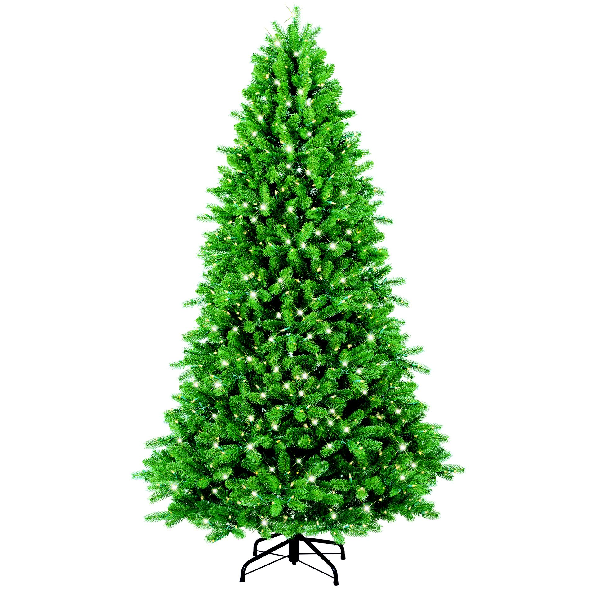 7.5 Ft Multi-Color Pre-Lit Colorado Spruce