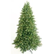 General Electric 7 Ft Clear Pre-Lit Just Cut EZ Shape Colorado Spruce Artificial Christmas Tree at Kmart.com