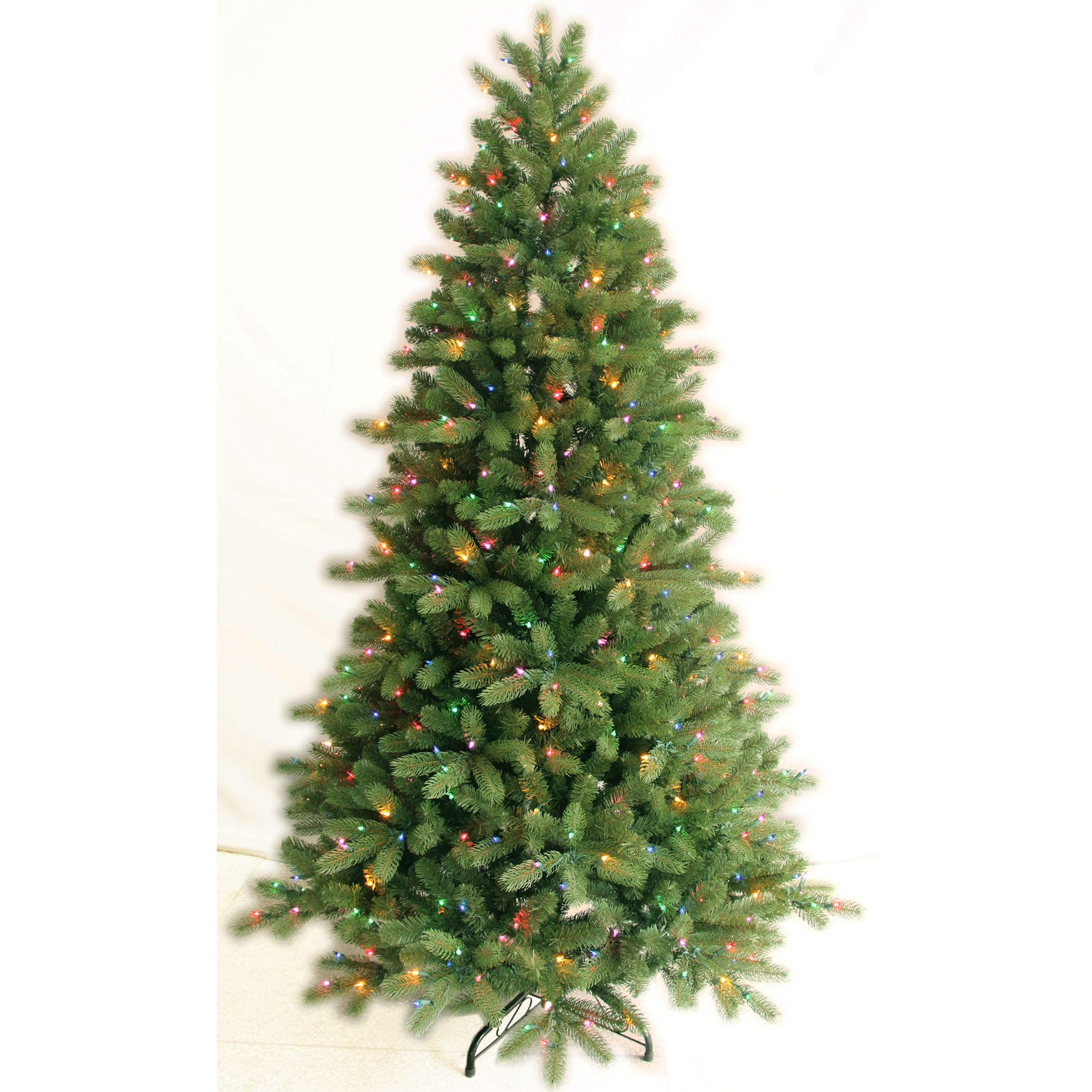 7 Ft Multi-Color Pre-Lit Colorado Spruce