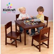 KidKraft Farmhouse Table & 4 Chairs - Pecan at Kmart.com