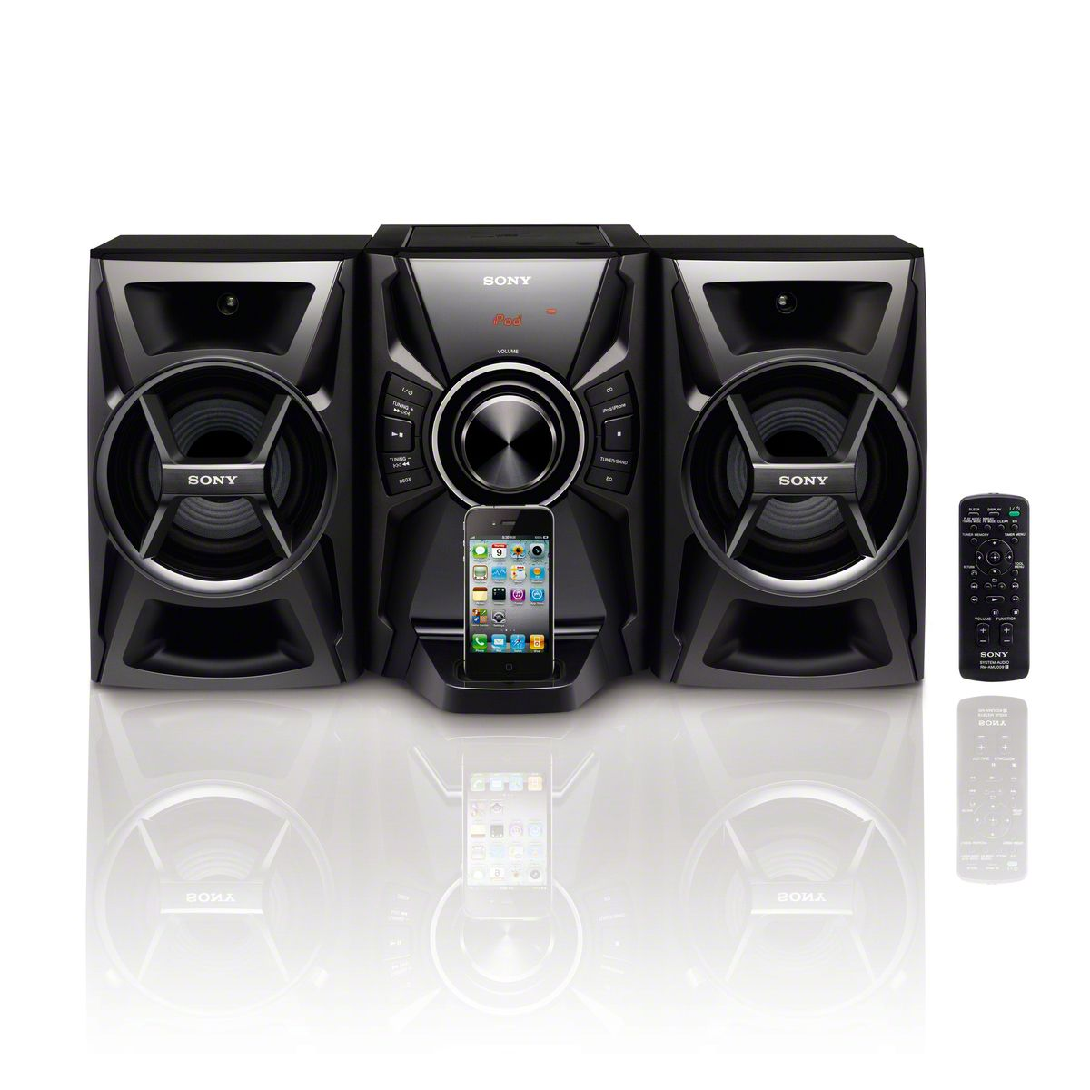 100W Music System w/ CD Player and