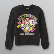 Joe Boxer Girl's Fleece Graphic Sweatshirt -  Critter Friends at Kmart.com