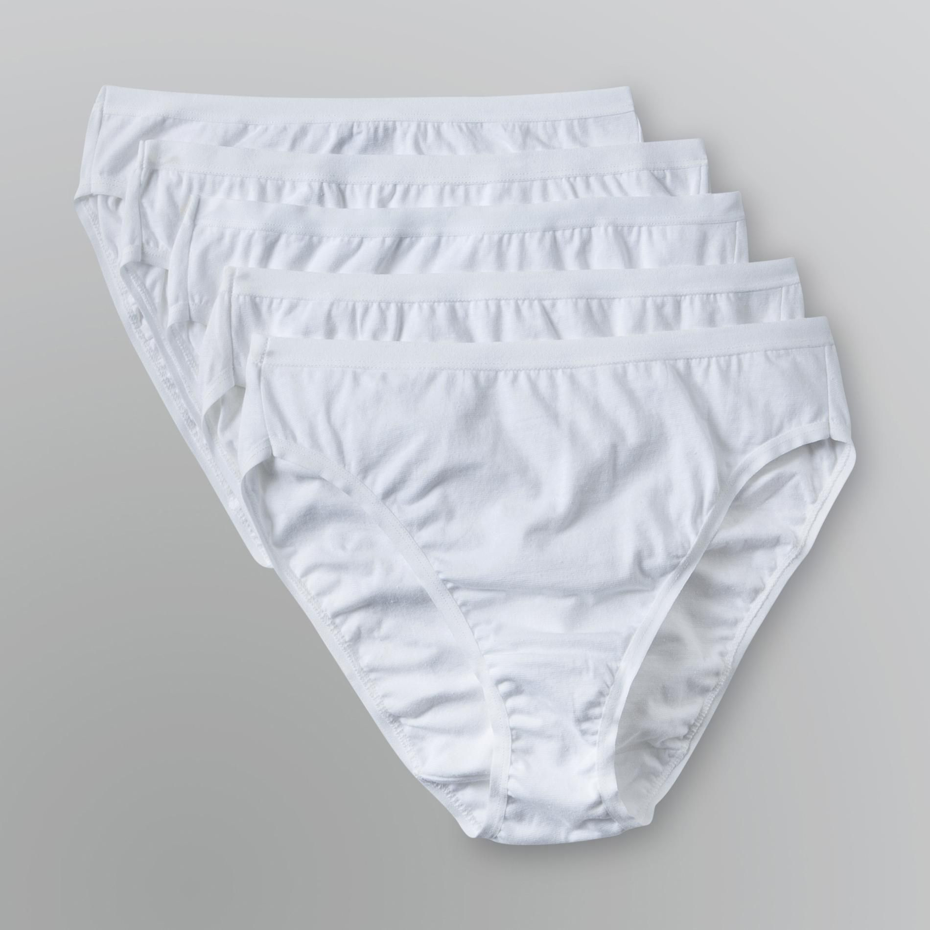 Women's True Comfort Cotton Hi-Cut Panty - 5-Pack