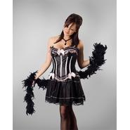 Lava Diva Halloween Costume Cigarette Girl Corset at Kmart.com
