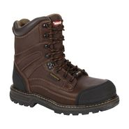Craftsman Men's Kryptor 8 inch Steel Toe Work Boot - Brown at Kmart.com