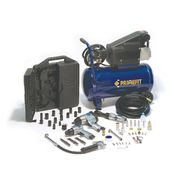 Prime Fit CMK2001 Ultimate Garage 6-Gallon Air Compressor with 52-Piece Air Tool Kit and Hard Case, Blue Finish at Kmart.com